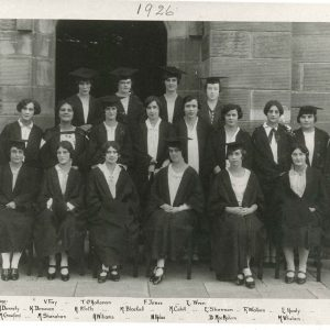 College photograph 1926 by Cazneaux