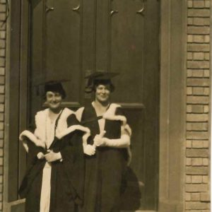 Madge Crawford and Ellie Shannon Graduation Day 1927