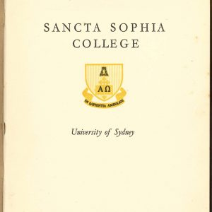 Title page of SSC prospectus c.1930
