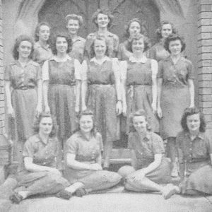 Basketball teams 1944 from College magazine