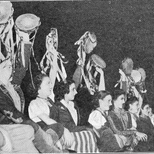 The gypsy chorus from College magazine 1939