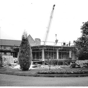 Construction of Octagon building