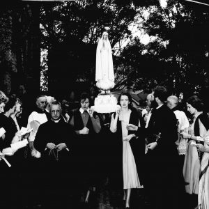 Procession of the statue of Our Lady of Fatima 1951