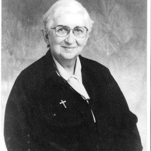Sr Mary Brennan – Principal 1972-1975
