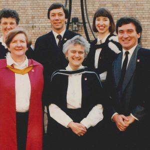 1990 Senior Common Room with Sr Shanahan
