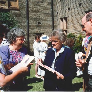 1991 - Sr Shanahan's farewell - Sr Joy Madigan, Sr Mary Shanahan, Dr Bill Ryan