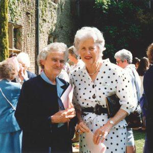 1991 - Sr Shanahan's farewell - Sr Mary Shanahan, Helen Herlihy