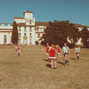 Hockey Sancta v Wesley Uni Square 1986