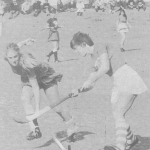 Sancta hockey - 1982 College magazine