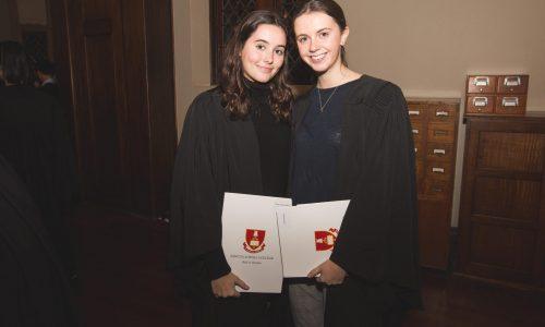 Academic Dinner June 2018 – Award Winners