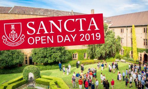 OPEN DAY: Sancta Sophia College, Saturday 31 August 2019